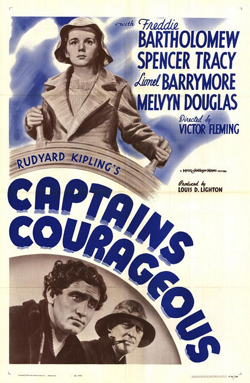 Captains Courageous - Movie Poster